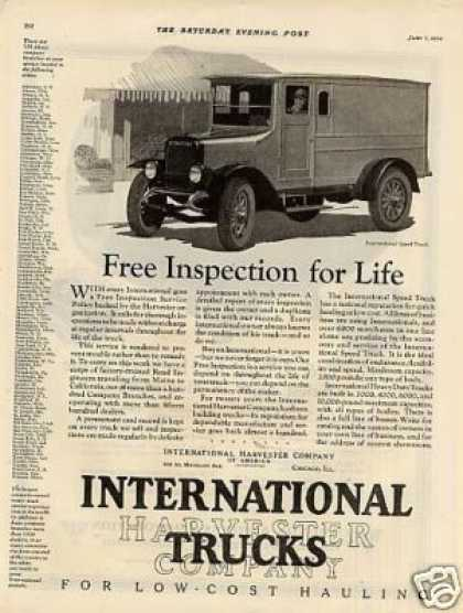 International Speed Truck (1924)