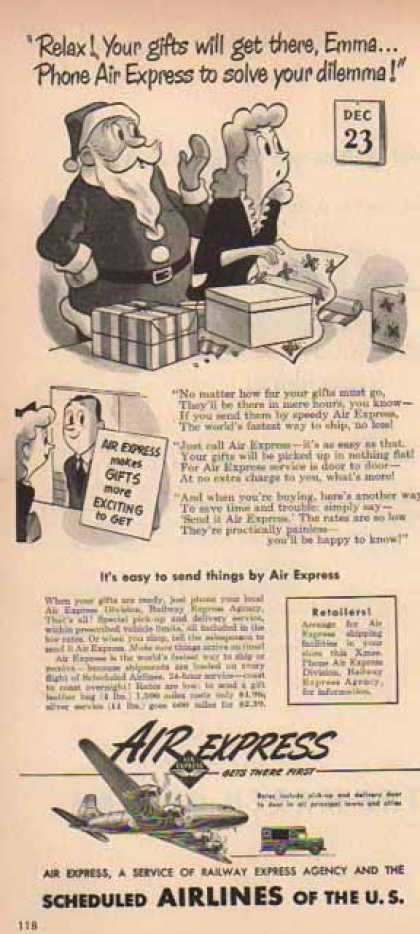 Air Express – Santa Claus (1948)