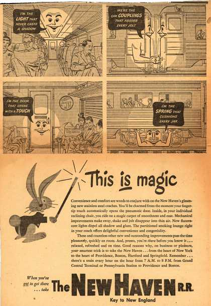 New Haven Railroad's New Haven RR – This is magic (1948)
