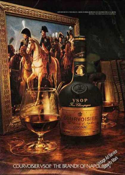 "Courvoisier ""The Brandy of Napoleon"" Impressive (1978)"