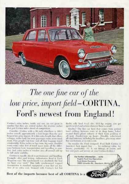 Ford Cortina From England Car (1963)
