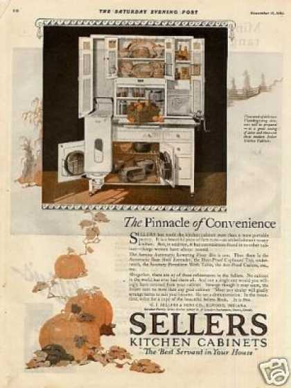 Sellers Kitchen Cabinet Color (1920)