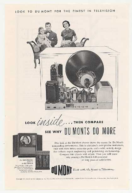 Du Mont Westbury Series II TV Inside View (1951)