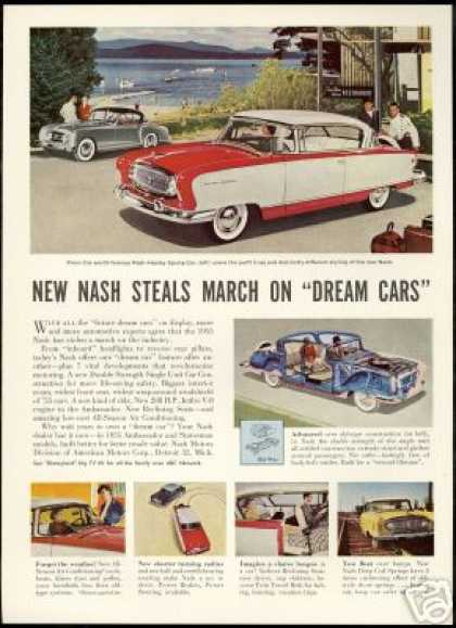 Nash Healey Sports Car Ambassador Statesman (1955)