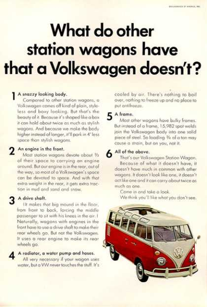 Vw Volkswagen Bus Station Wagon (1966)