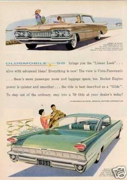 Oldsmobile Cars (1959)