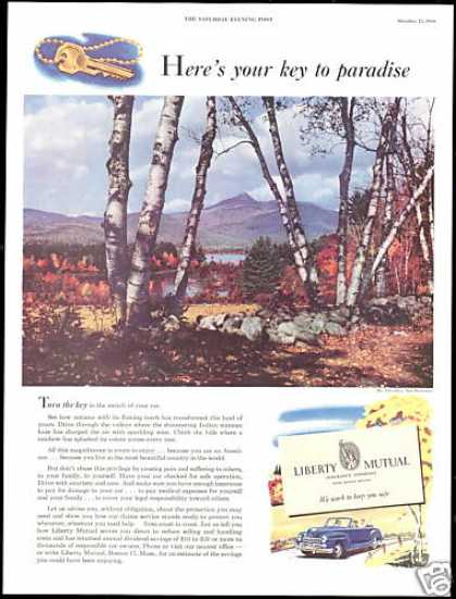 New Hampshire Mt Chocorua Liberty Mutual Ins (1949)