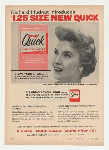 Julia Meade New Quick Home Permanent Trade (1956)