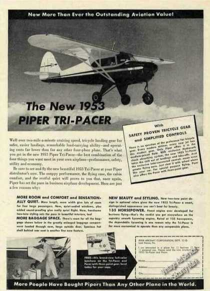 Piper Tri-pacer Collectible Airplane (1953)