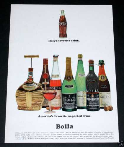 Bolla Wines & Coke, Favorites (1964)
