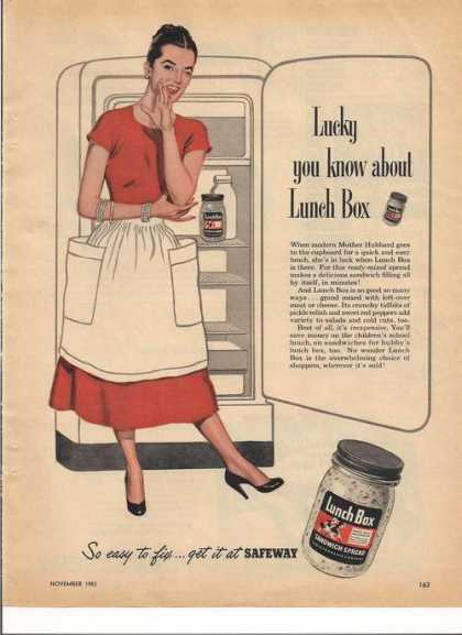 Lunch Box Sandwich Spread (1953)