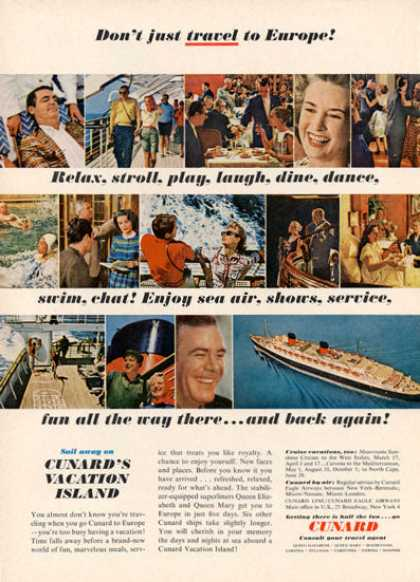 Cunard Cruise Line Ship (1962)