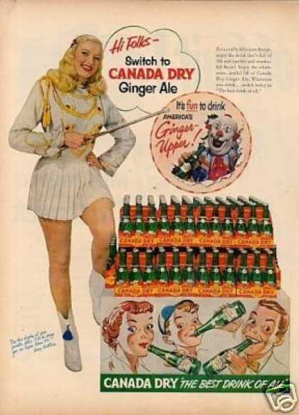 Canada Dry Ginger Ale (1952)
