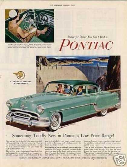 "Pontiac Car Ad ""Something Totally New... (1954)"
