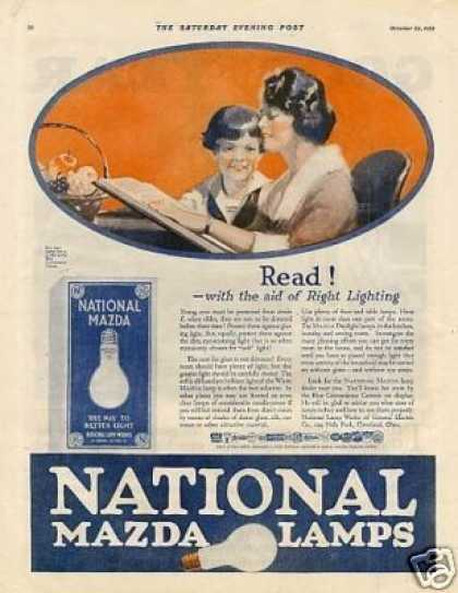 National Mazda Lamps (1921)