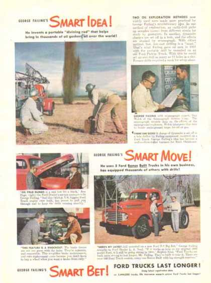 Ford Trucks – George Failing's – Sold (1949)
