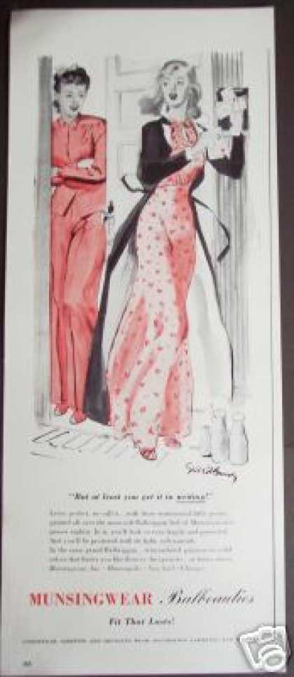 Art By Brandy Munsingwear Nightgown Original (1941)