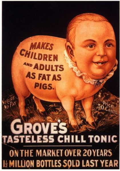 Grove&#8217;s, Humour Groves Tonic, USA (1890)