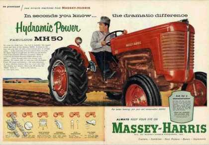 "Massey-harris Mh50 ""Hydramic Power"" Farm (1957)"