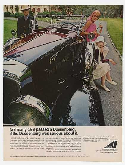 Avco Corporation Old Duesenberg Convertible (1967)