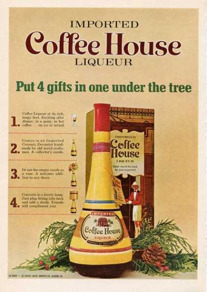 Coffee House Liqueur Colorful (1965)