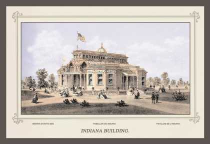 Indiana Building, Centennial International Exhibition (1876)