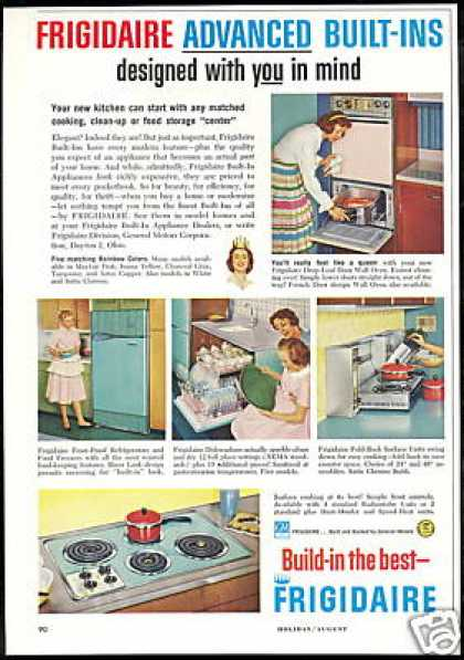 Frigidaire 5 Photo Kitchen Appliance Vintage (1959)