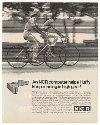 Huffy Bicycle NCR Century Computer System (1973)
