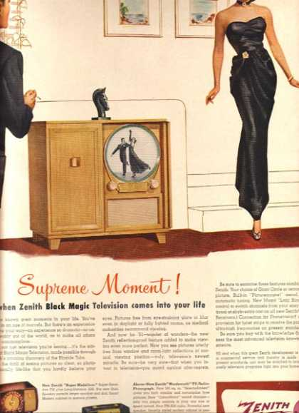 Zenith's Black Magic Television (1950)