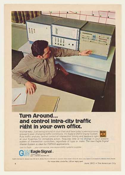 '72 Eagle Signal DM10 Digital Sys Traffic Controller (1972)