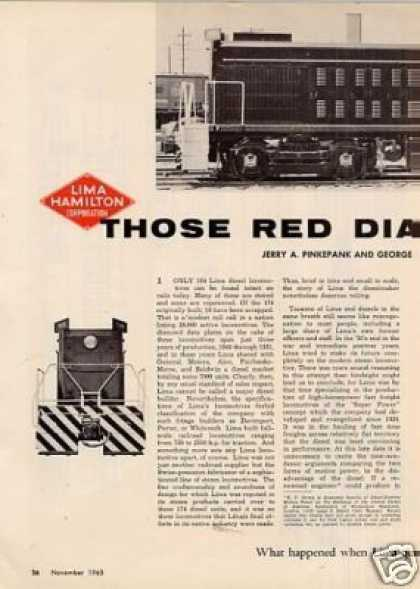 """Those Red Diamond Diesels""Article (1963)"