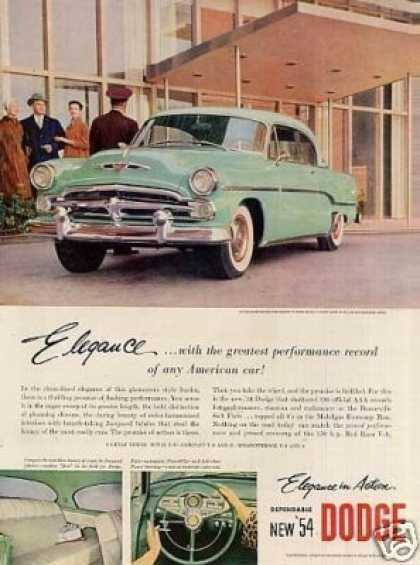 Dodge Royal V-8 Sport Coupe (1954)