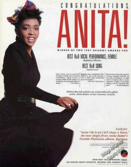 Anita Baker Photo Nice Music (1987)