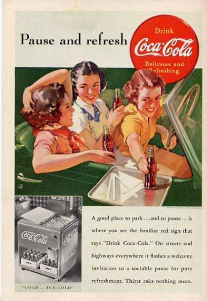 Coke Ice Box Convertible Car T (1938)
