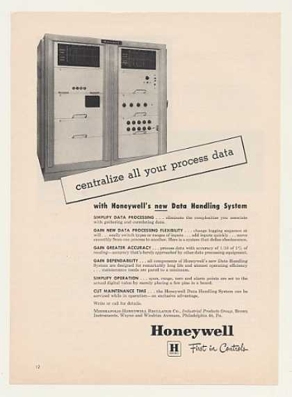 Honeywell Data Handling System (1958)