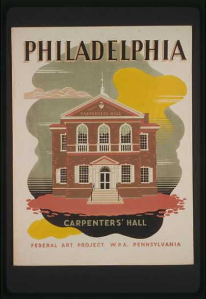 Philadelphia – Carpenters' Hall. (1936)