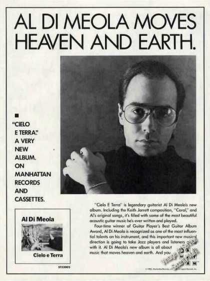 Al Di Meola Moves Heaven & Earth Music (1985)