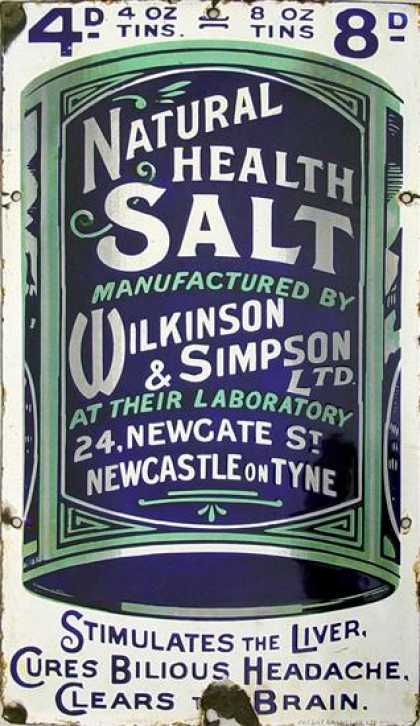 Wilkinson&#8217;s &amp; Simpson&#8217;s Health Salts