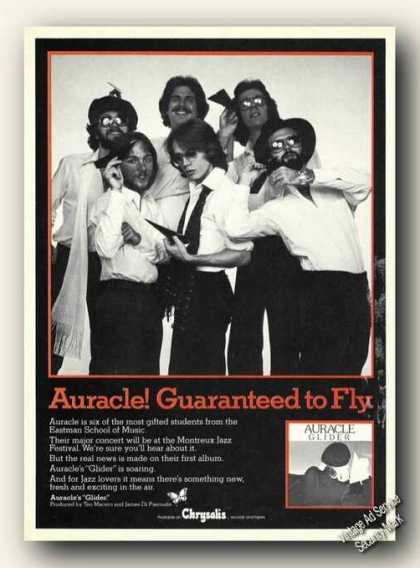Auracle Photo 'glider' Album Promo Promo (1978)