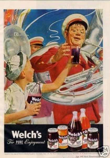Welch's Grape Juice (1947)