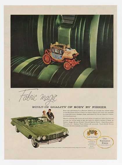 Oldsmobile 98 Convertible Body by Fisher Fabric (1960)