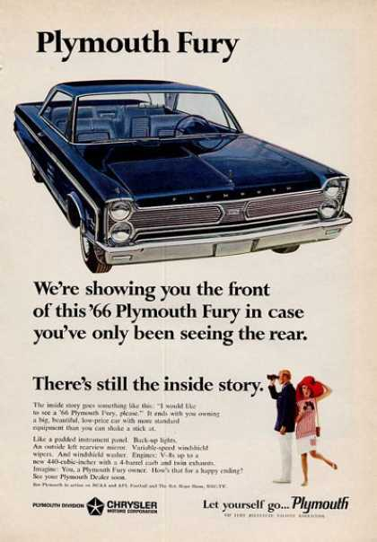-'66 Plymouth Fury Blue (1965)