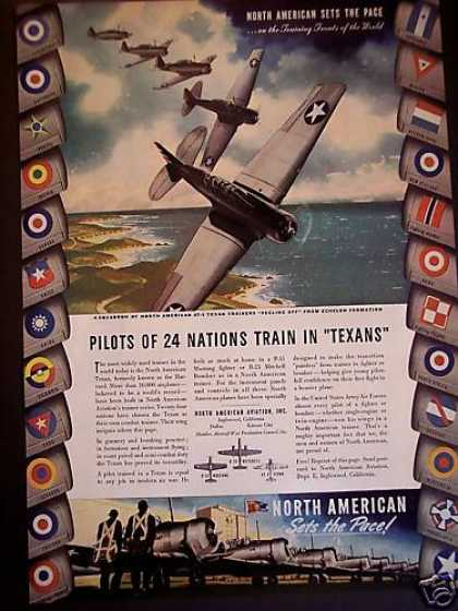 North American Aviation Airplanes Texan (1943)