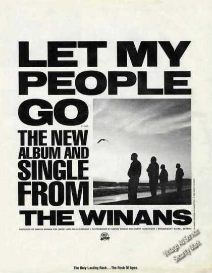 "The Winans ""Let My People Go"" Album Promo (1985)"