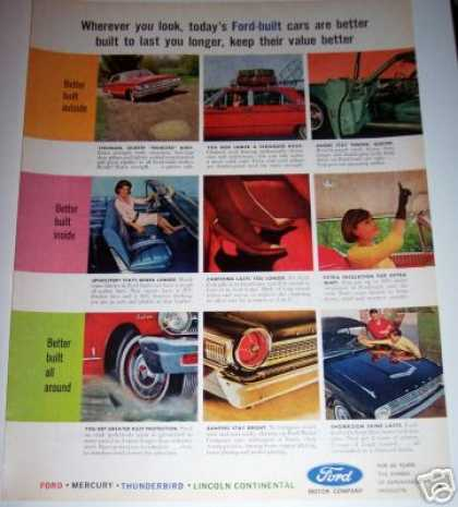 Ford Better Built Cars Car (1963)