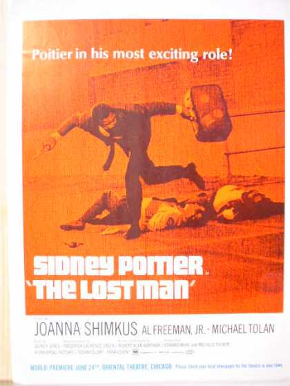 Movie The Lost Man Sidney Poitier (1969)