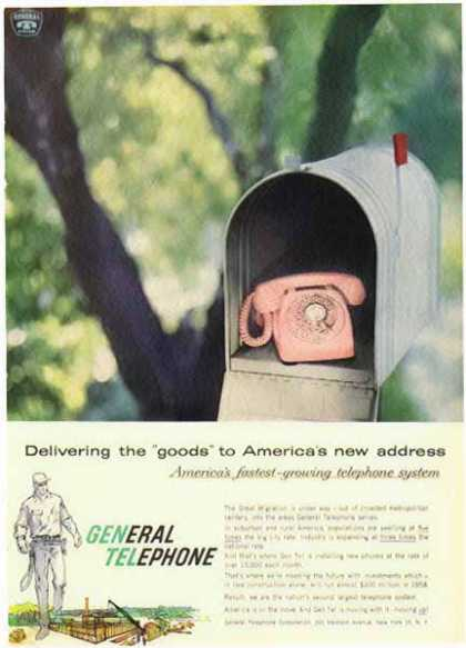 General Telephone – Delivering the Goods (1958)