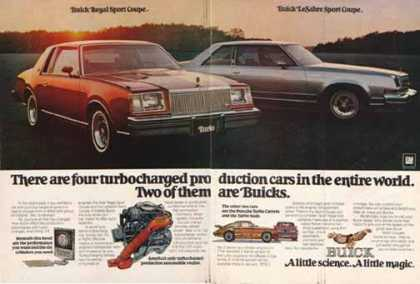 Buick Regal & LaSabre Car – Sport Coupes (1977)