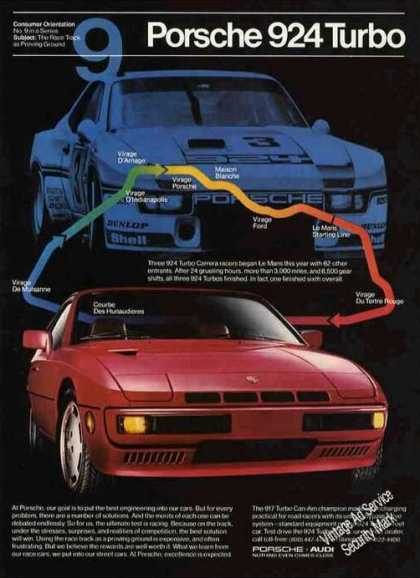 "Porsch 924 Turbo ""Race Track As Proving Ground"" (1981)"