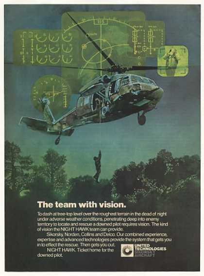 '82 Sikorsky Night Hawk Helicopter Down Pilot Rescue (1982)